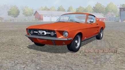 Shᶒlby GT500 1967 for Farming Simulator 2013
