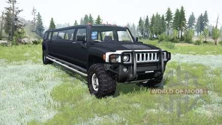 Hummer H3 Liᶆo for MudRunner