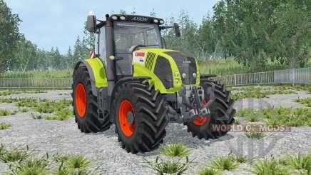 Claas Axion 850 IC control for Farming Simulator 2015