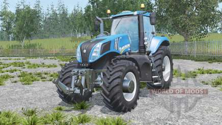 New Holland T8.320 real engine for Farming Simulator 2015