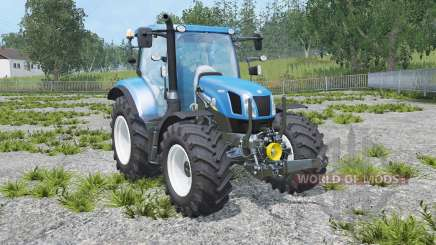 New Holland T6.160 real engine for Farming Simulator 2015