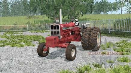 Farmall 1206 dual rear wheels for Farming Simulator 2015