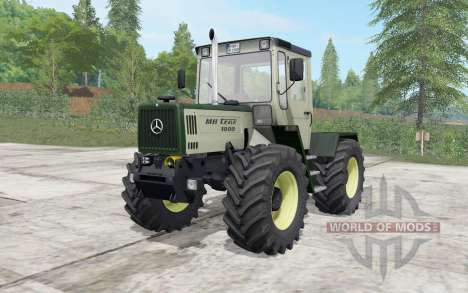 Mercedes-Benz Trac 1000 series for Farming Simulator 2017