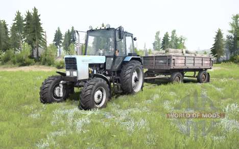 MTZ-82.1 Belarus for Spintires MudRunner