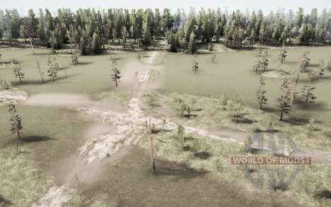 The Ghost Village for Spintires MudRunner