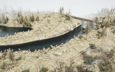 River 704 for Spintires MudRunner