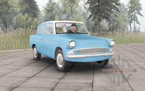 Ford Anglia for Spin Tires