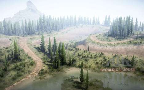 Around the lake for Spintires MudRunner