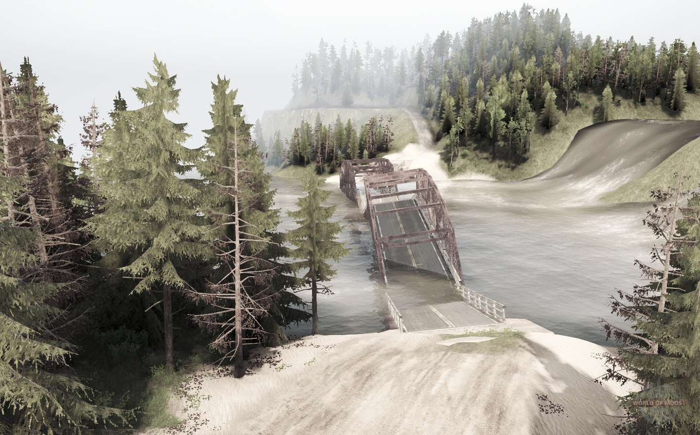 Snake Road 9 For MudRunner
