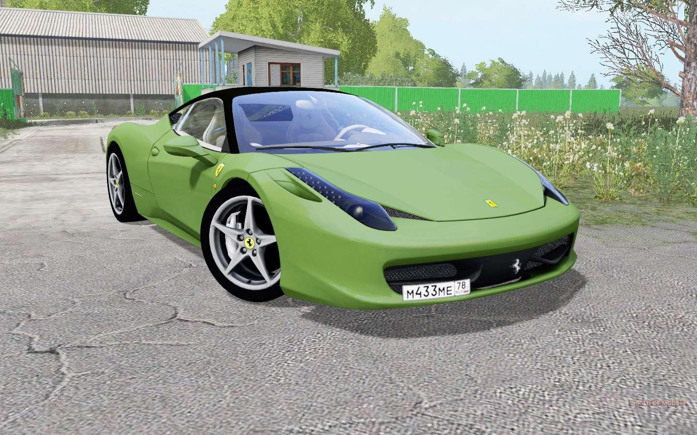 Ferrari 458 Italia Grass For Farming Simulator 2017
