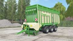 Krone ZX 550 GD pigment green for Farming Simulator 2017