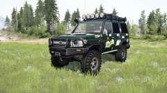 Toyota Land Cruiser 70 (J76) 2007 expedition for MudRunner