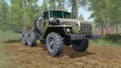Ural-4420-wheel drive for Farming Simulator 2017