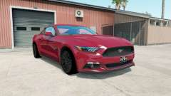 Ford Mustang GT fastback 2014 for American Truck Simulator