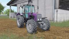 MTZ-1221 Belarus dark purple color for Farming Simulator 2017