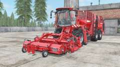 Holmer Terra Dos T4-40 coral red for Farming Simulator 2017