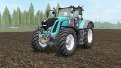 Fendt 927-939 Vario robin egg blue for Farming Simulator 2017