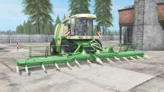Krone BiG X 1100 buɳker capacity for Farming Simulator 2017