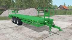 Laumetris PTL-20R north texas green for Farming Simulator 2017