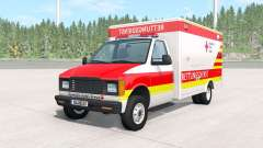Gavril H-Series German Ambulance v1.2 for BeamNG Drive