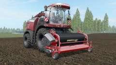 Krone BiG X 580 Tuning Edition deep chestnut for Farming Simulator 2017