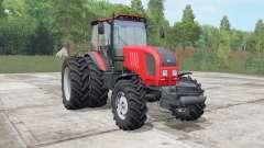 MTZ-Belarus 1822.3 bright red color for Farming Simulator 2017