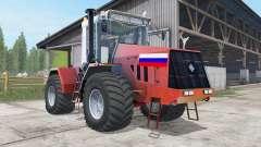 Kirovets K-744R3 red color for Farming Simulator 2017