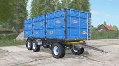 Randazzo R 270 PT rich electric blue for Farming Simulator 2017