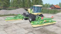 Krone BiG M 500 chateau green for Farming Simulator 2017