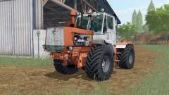 T-150K Sienna orange color for Farming Simulator 2017
