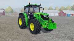 John Deere 6150R froɳt loader for Farming Simulator 2013