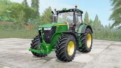 John Deere 7230R-7310R configure for Farming Simulator 2017