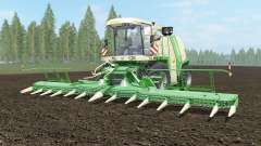 Krone BiG X 1100 light cream for Farming Simulator 2017