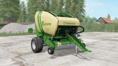 Krone Fortima V 1500 pantone green for Farming Simulator 2017