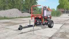Ursus Z-586 tart orange for Farming Simulator 2017