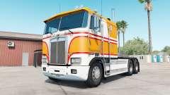 Kenworth K100E yellow orange for American Truck Simulator