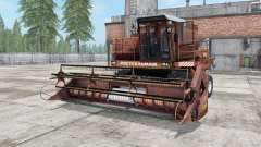 Don-1500A brown color for Farming Simulator 2017