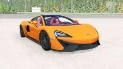McLaren 570GT 2017 mikado yellow for BeamNG Drive