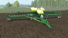 John Deere DB60 north texas green for Farming Simulator 2017