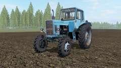 MTZ-82 Belarus blue Okas for Farming Simulator 2017