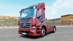 Mercedes-Benz Antos venetian red for Euro Truck Simulator 2