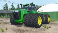 John Deere 9620R triple wheels for Farming Simulator 2015