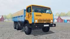 KamAZ-55102 bright orange color for Farming Simulator 2013