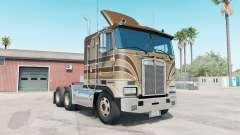 Kenworth K100E pale taupe for American Truck Simulator