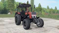 MTZ-892.2 Belarus is moderately red color for Farming Simulator 2017