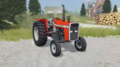 Massey Ferguson 265 orioles orange for Farming Simulator 2015