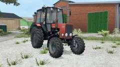 MTZ-82.1 Belarus aka-red color for Farming Simulator 2015
