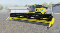 New Holland CR9090 titanium yᶒllow for Farming Simulator 2013