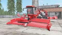 Holmer Terra Felis 2 red orange for Farming Simulator 2017