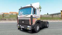 MAZ-54323 v7.0 for Euro Truck Simulator 2